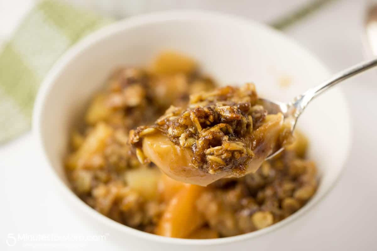 Instant Pot Apple Crisp Recipe