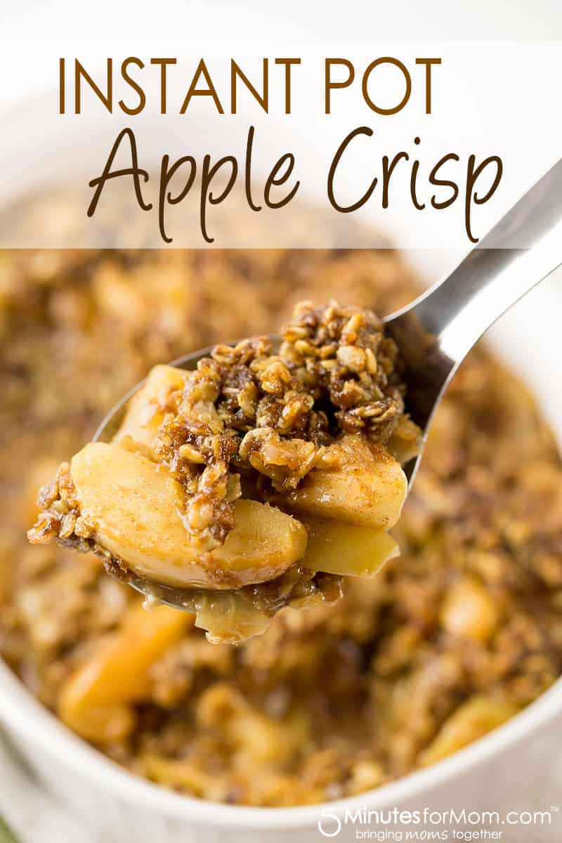 Instant Pot Apple Crisp Recipe that is Ready in Minutes