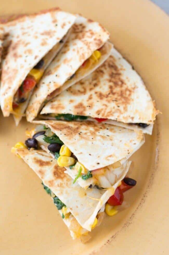 Loaded Southwest Quesadillas Recipe from A Mom_s Take