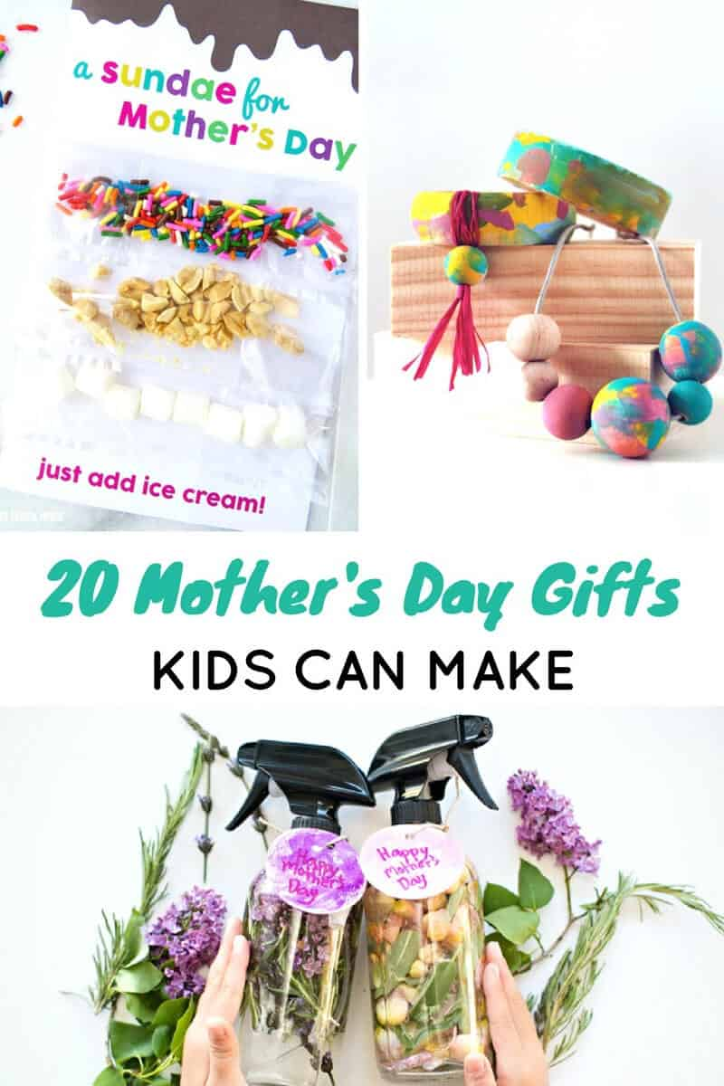 Mothers Day Gifts Kids Can Make - Easy Mothers Day DIY Gift Ideas