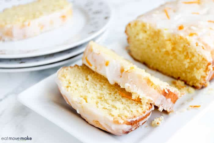 Orange Lemon Pound Cake from Eat Move Make