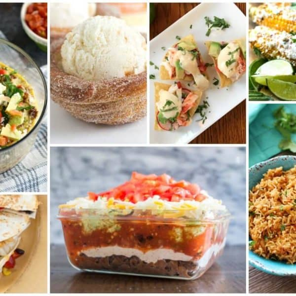 Recipes for Cinco de Mayo and our Delicious Dishes Recipe Party