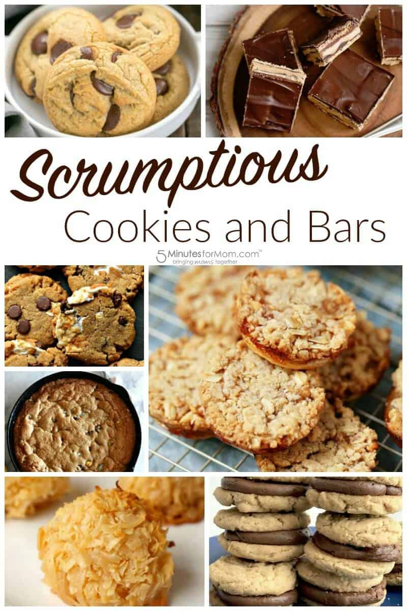 Scrumptious Cookies and Bars