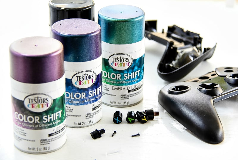 How To Paint Your Gaming Controller