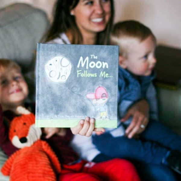 The Moon Follows Me – Curious Kids Will Love This New Children's Book