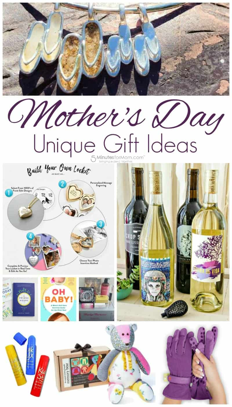Unique Mothers Day Gift Ideas  Gifts For Moms  5 Minutes for Mom