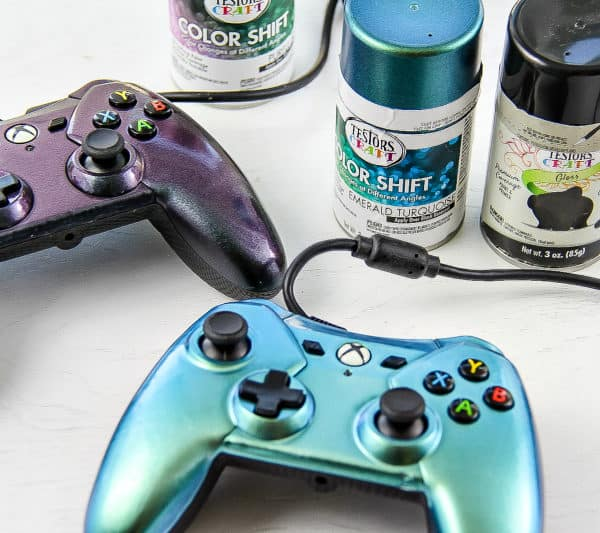 How to Paint Gaming Controllers