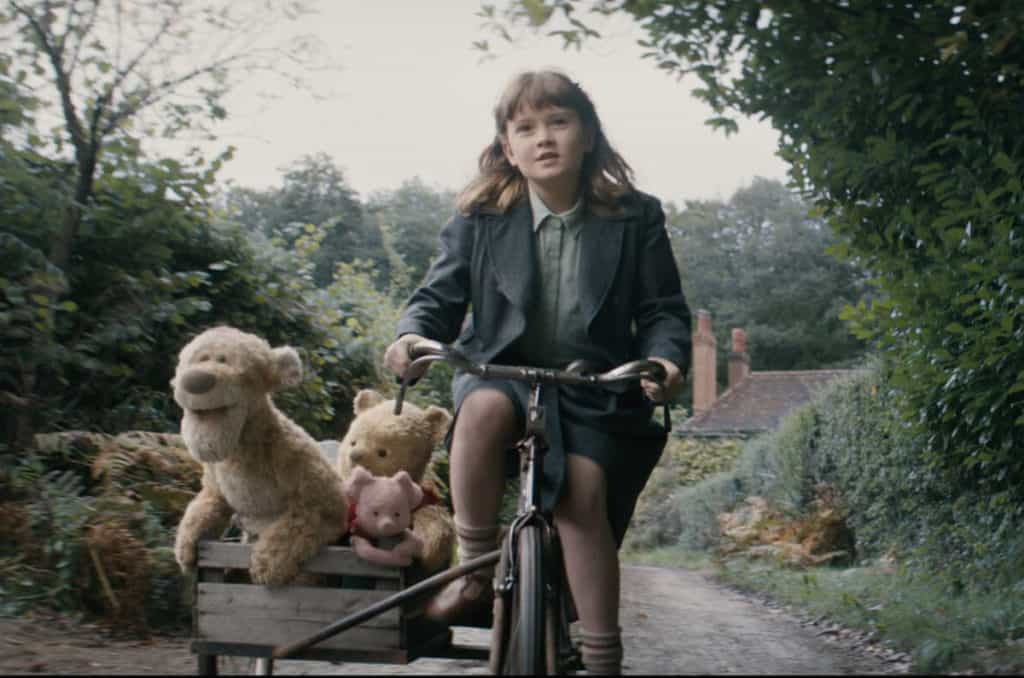 Christopher Robin - Madeline Robin with Pooh and Friends