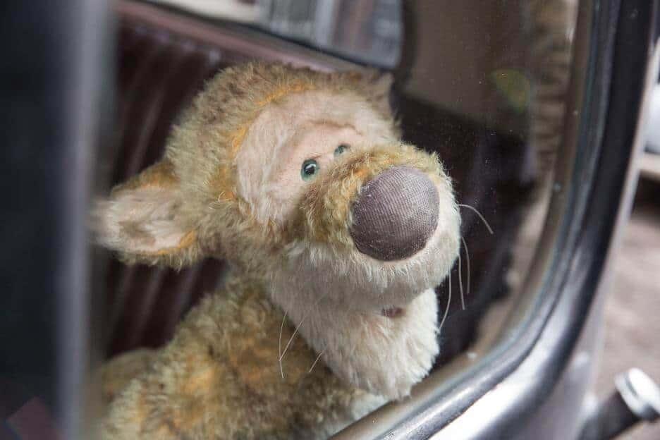 Christopher Robin - Tigger in a Car