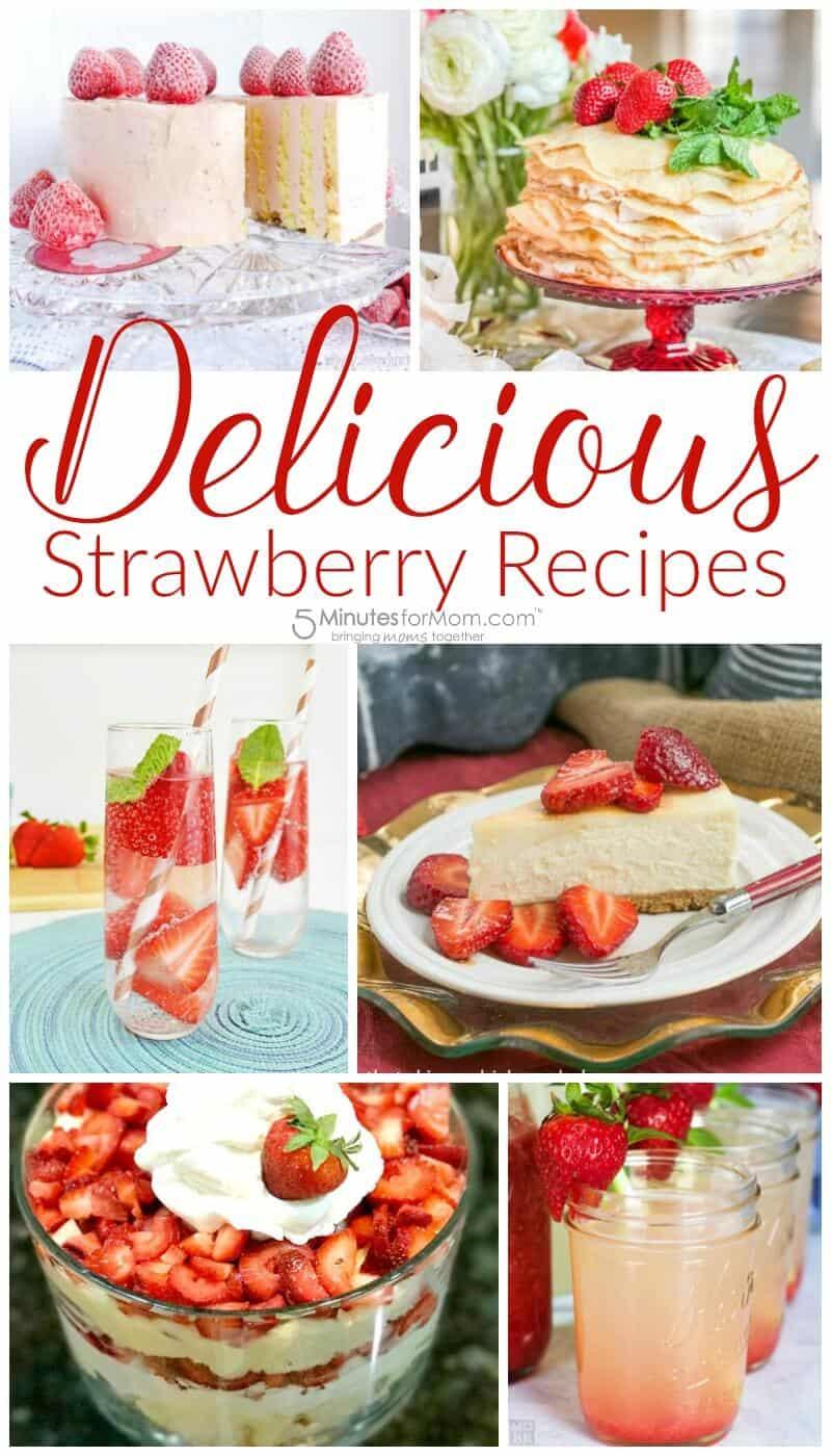 Sweet Strawberry Recipes - Delicious Strawberry Treats