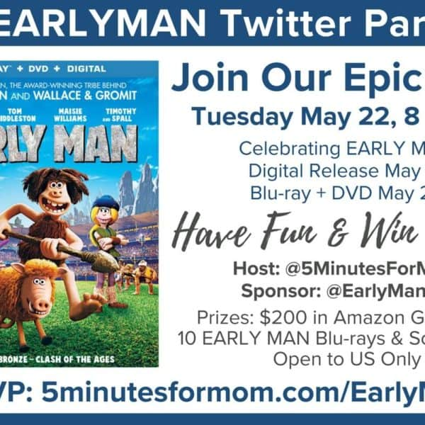 Join Us For An Epic #EARLYMAN Twitter Party – May 22, 8pm ET #ad