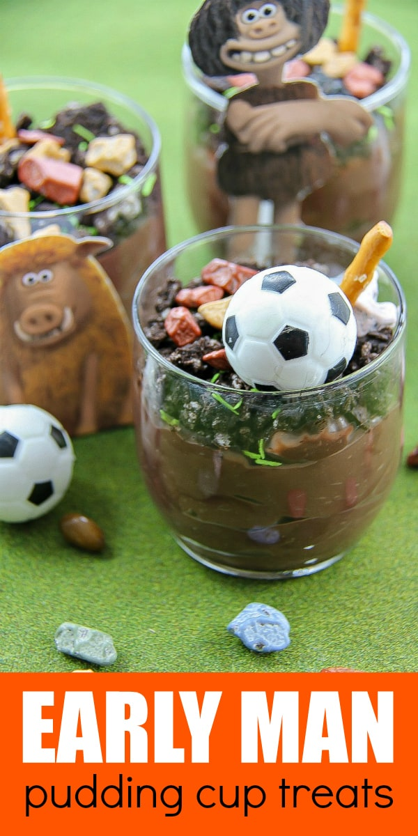 Early Man Party Treats - EARLY MAN Pudding Cups #ad #EarlyMan #partytreats
