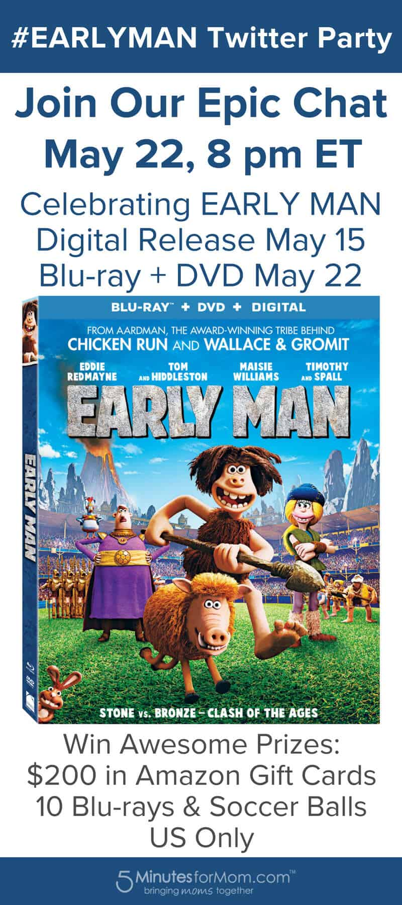EarlyMan Twitter Party - Join Our Epic Chat