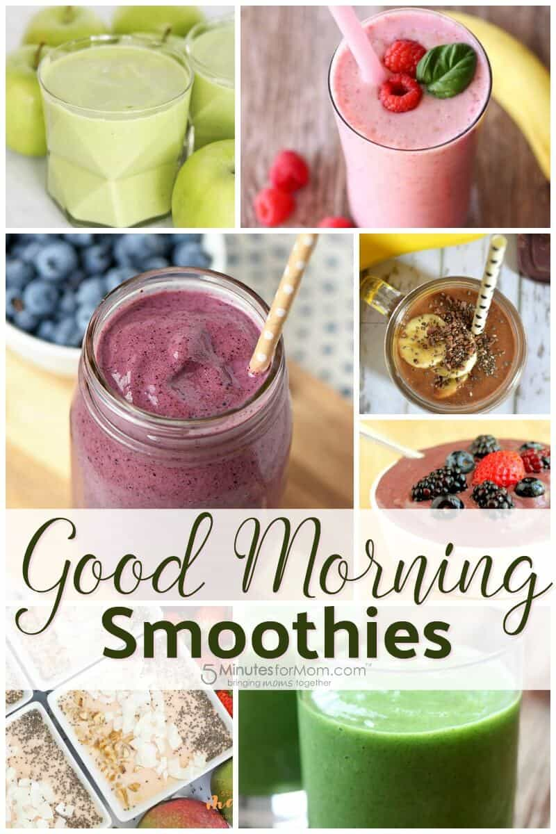 Good Morning Smoothies Recipes