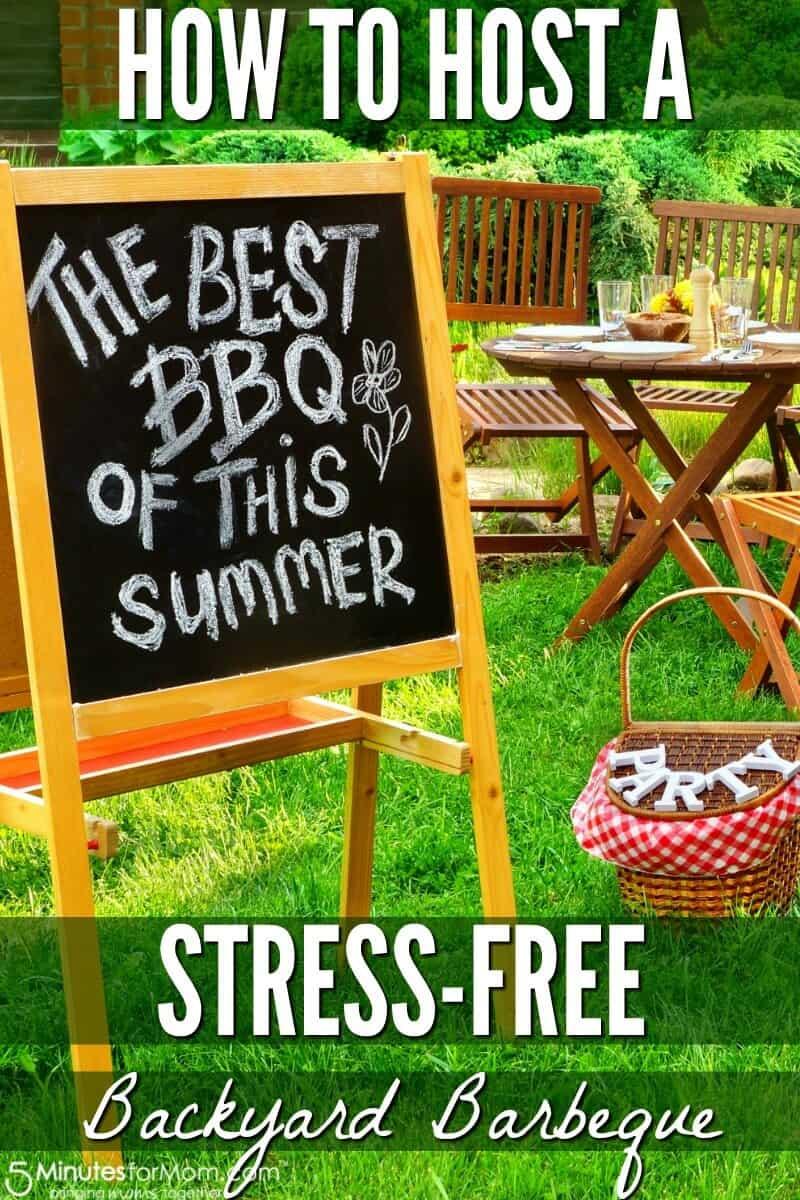 How to Host a Stress-Free Backyard BBQ