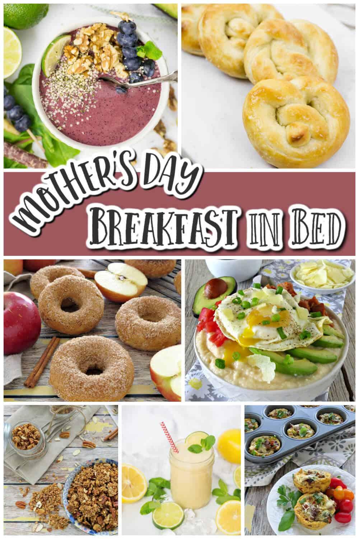 Mothers Day Breakfast In Bed Recipe Ideas