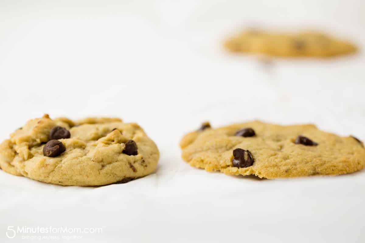 chill your cookie dough for taller less spread out cookies