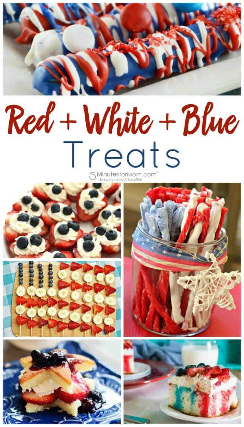Red White and Blue Treats - Patriotic Treats