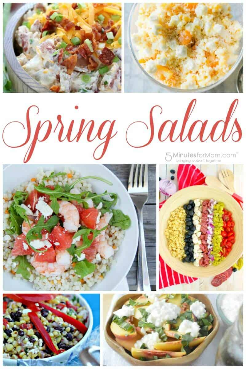The Best Spring Salads - Salad Recipes