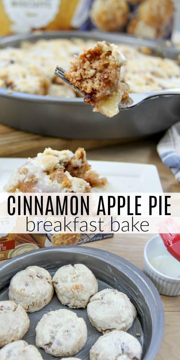 Cinnamon Apple Pie Breakfast Bake Recipe