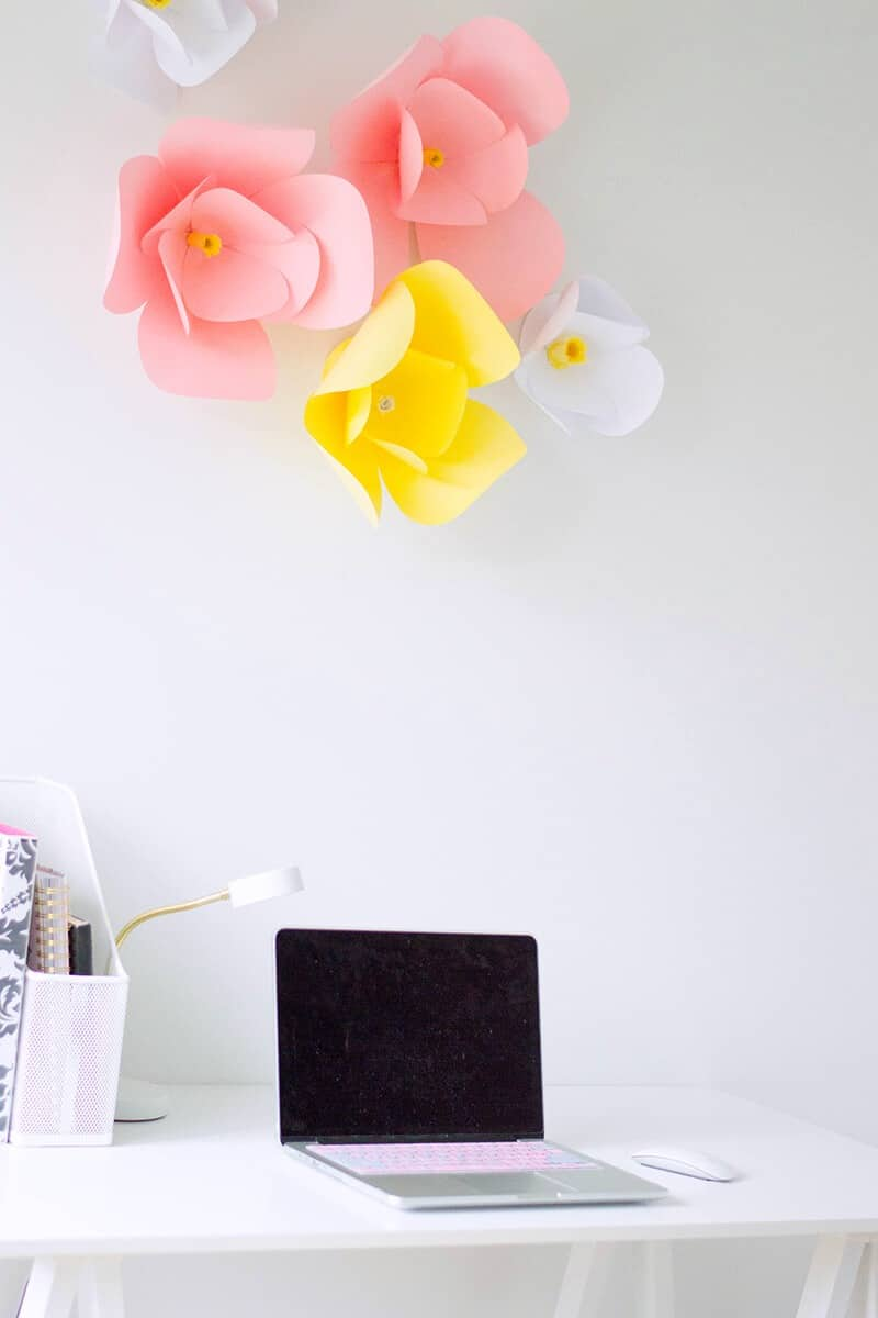 DIY Home Decor - Easy DIY Paper Flowers