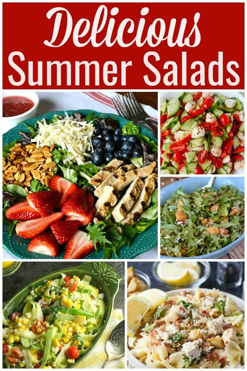 Delicious Summer Salads - Salad Recipes Perfect For Summer