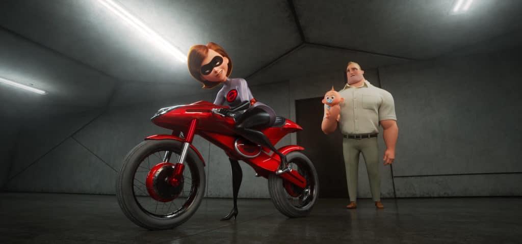Incredibles 2 - Elastigirl Motorcycle