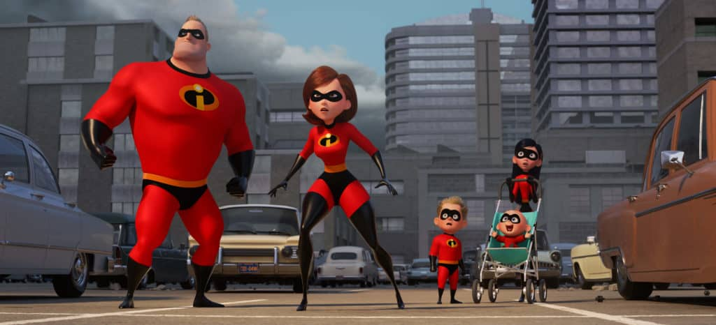 Incredibles 2 - Family In Action