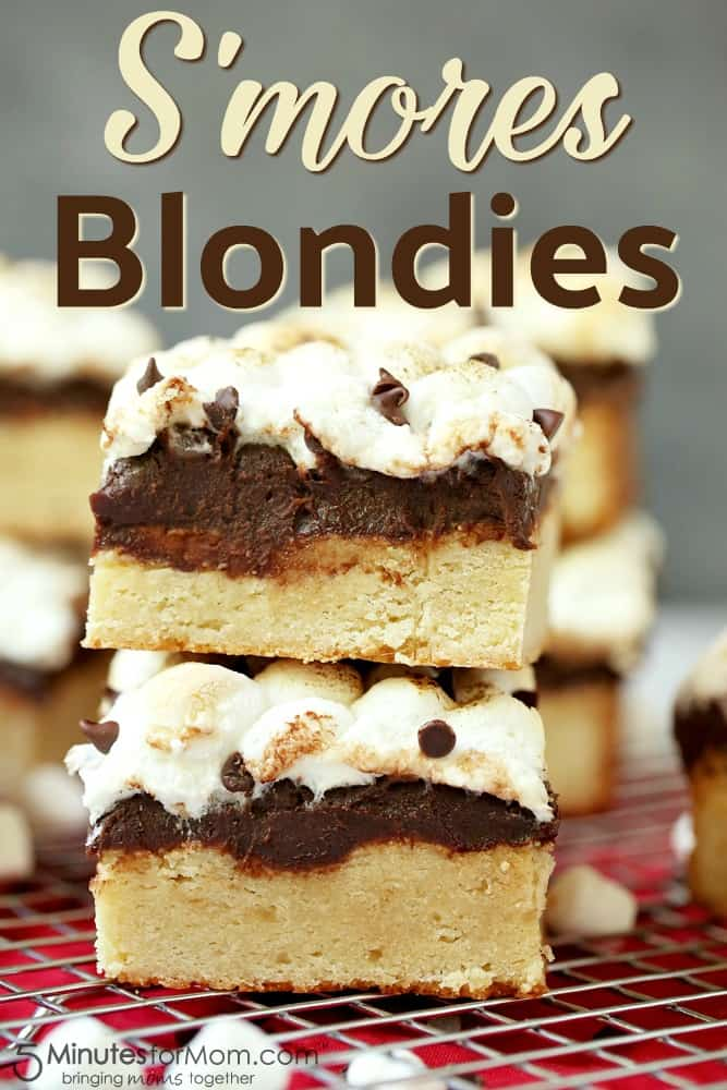 S'mores Blondies Dessert Recipe