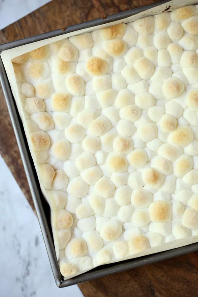 S'mores Blondies Recipe Step 4