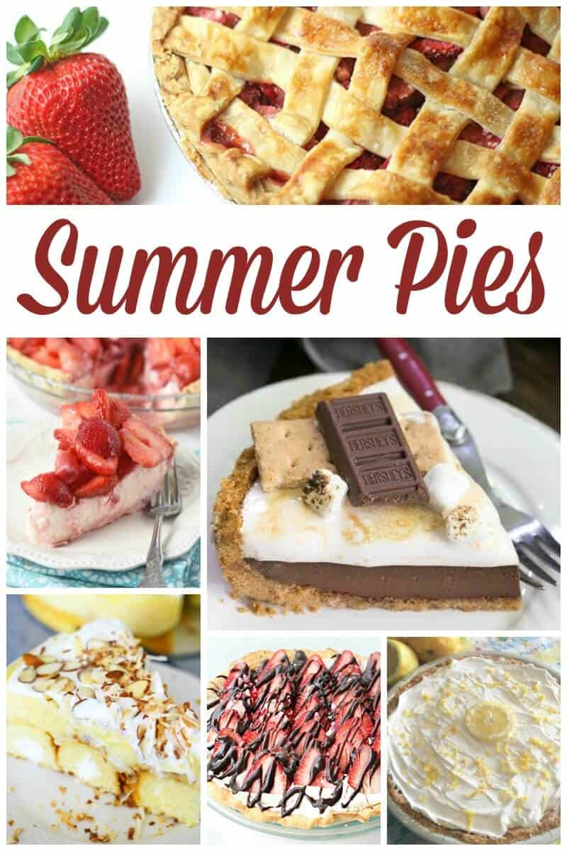 Summer Pies - Delicious Pie Recipes
