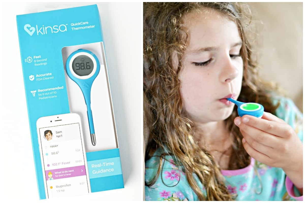 Using the Kinsa QuickCare Thermometer