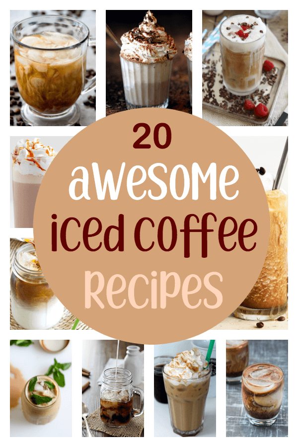awesome iced coffee recipes