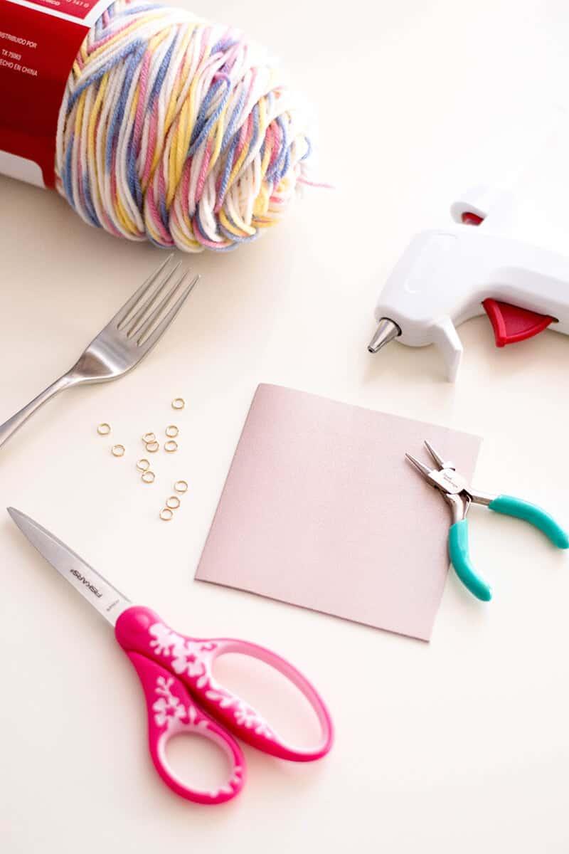 DIY Tassel Key Chain - Craft Supplies