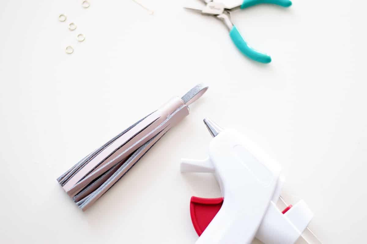 Making a DIY Tassel Keychain