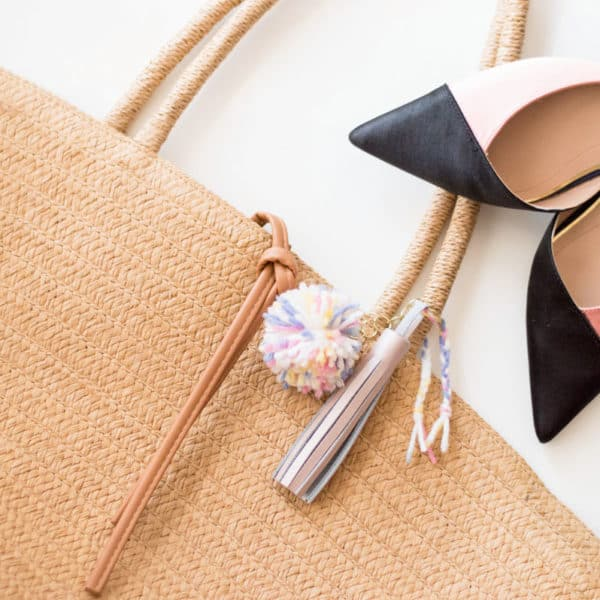 DIY Tassel Keychain: Sprucing Up Your Favorite Handbag