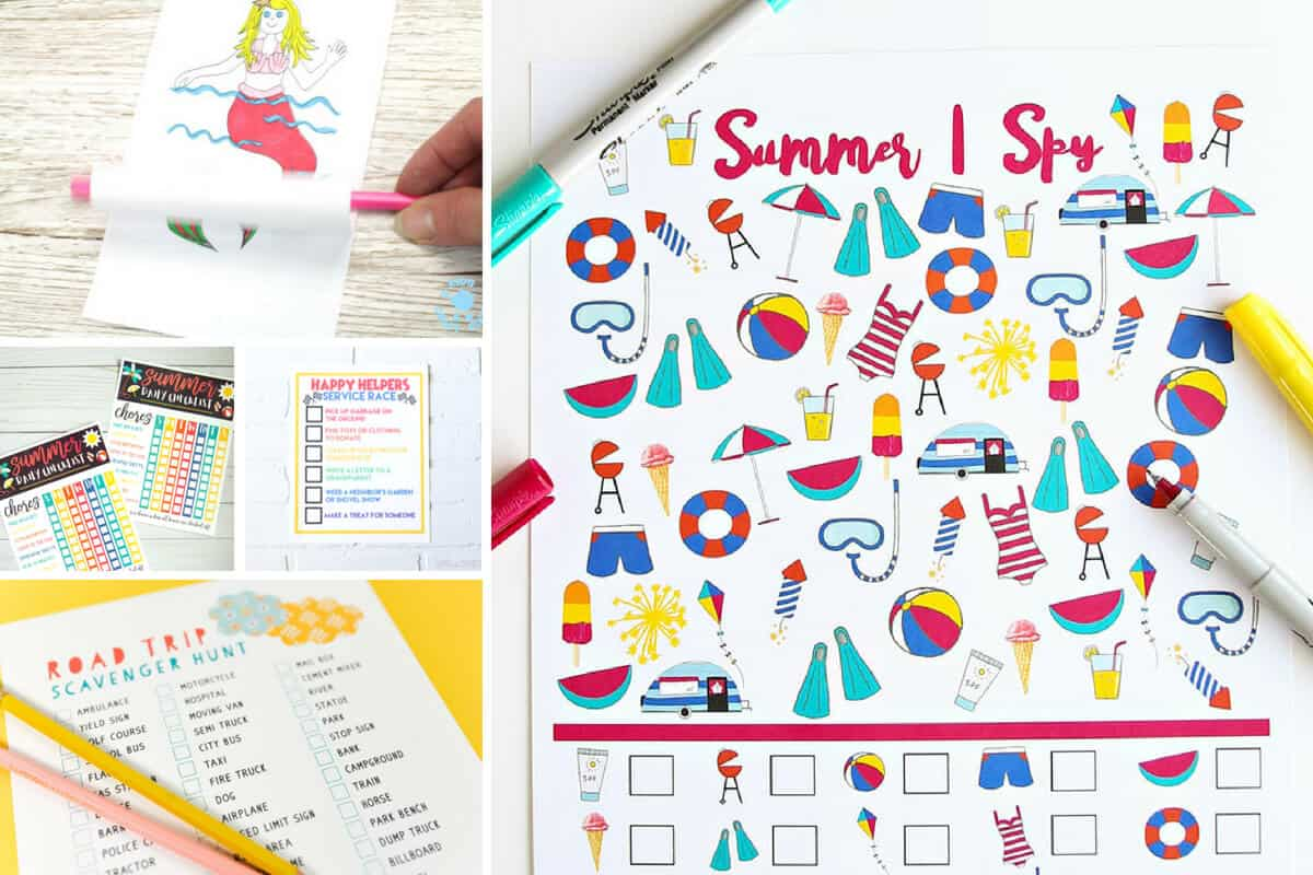 Free Summer Printables - Collection 4