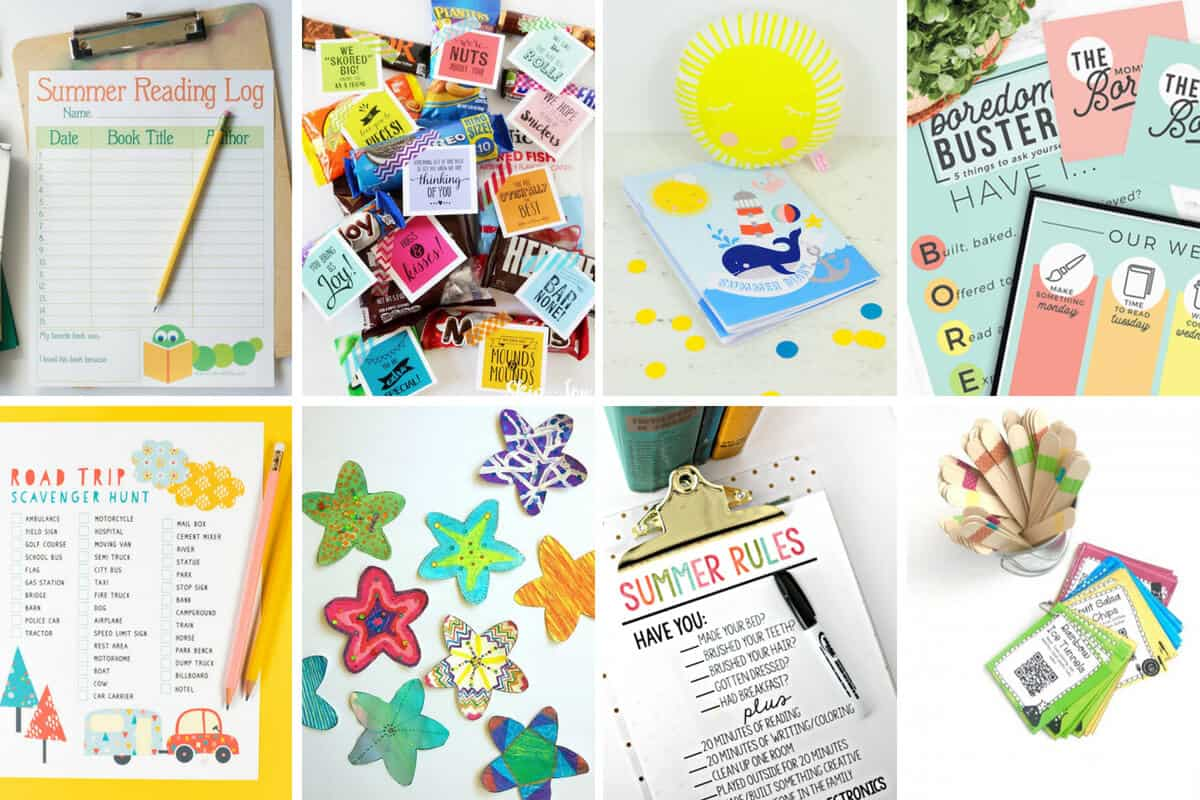 20 Free Summer Printables For Kids - 5 Minutes for Mom