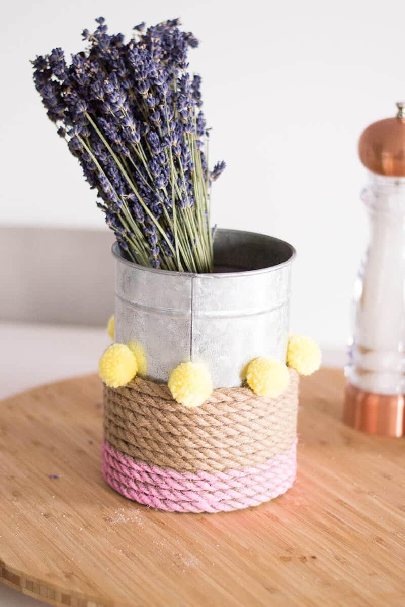 Rope Vase DIY