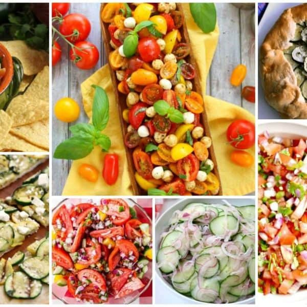 Summer Veggie Recipes and our Delicious Dishes Recipe Party