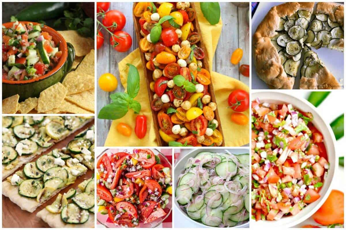 Summer Veggies Recipes - Summer Vegetables