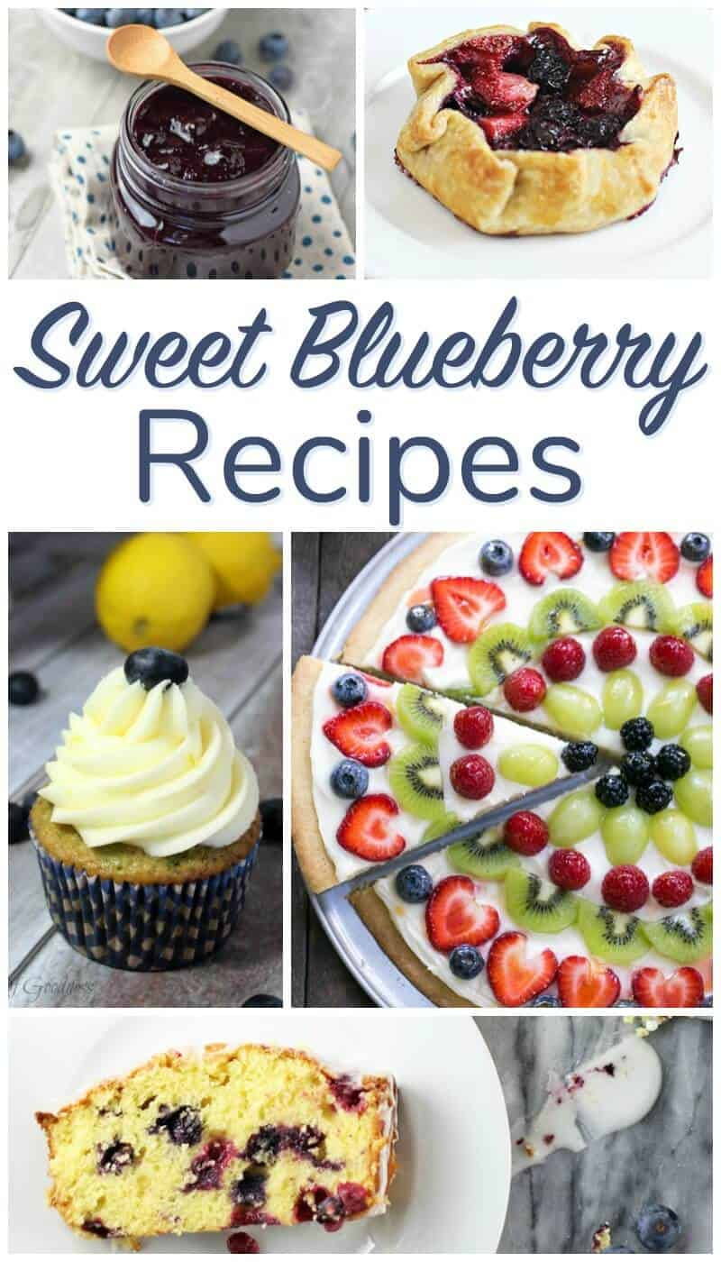 Sweet Blueberry Recipes - Delicious Blueberries