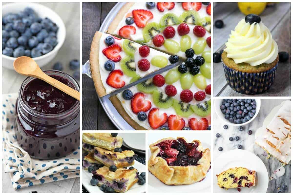 Sweet Blueberry Recipes