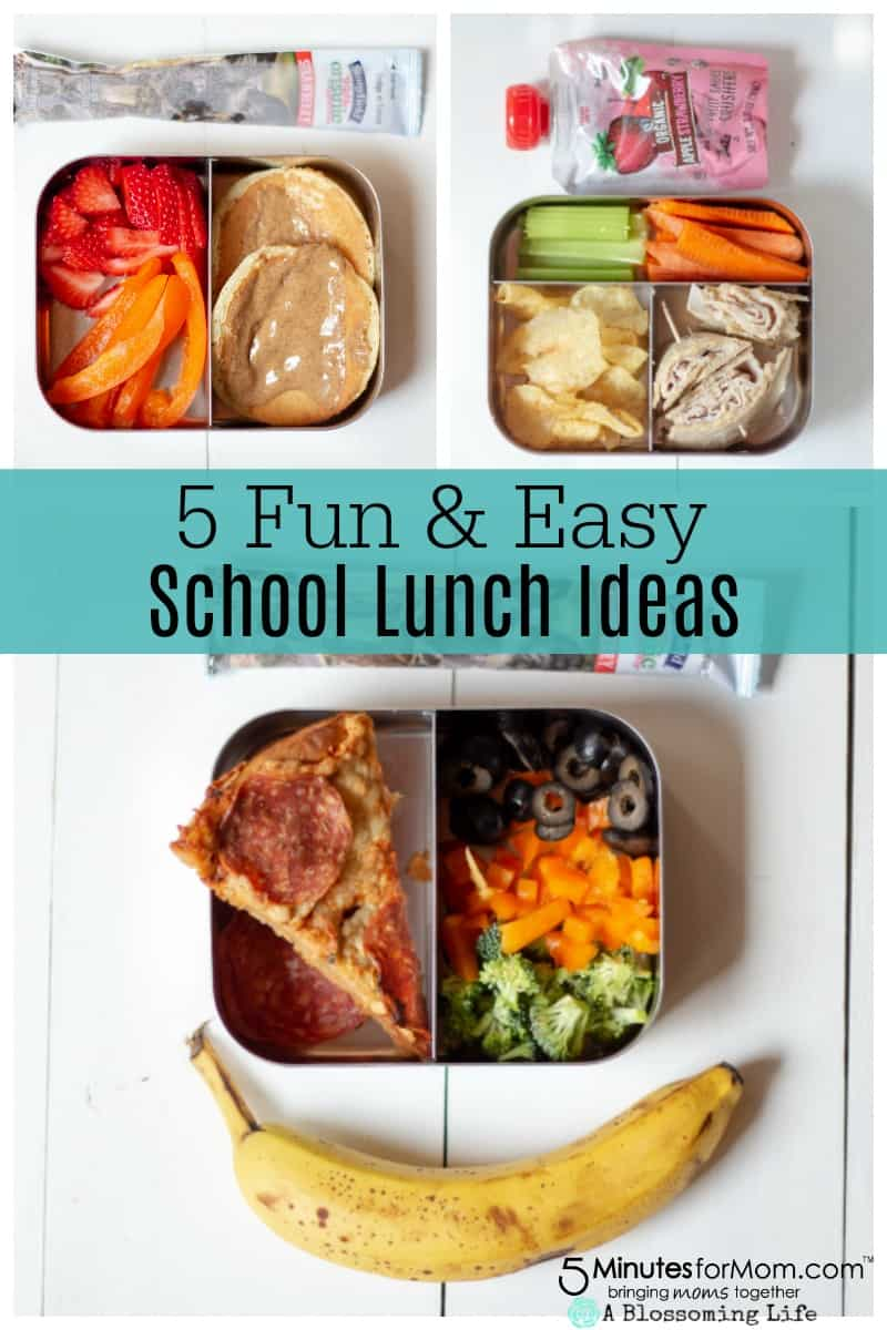 How To Make Fun And Easy School Lunches