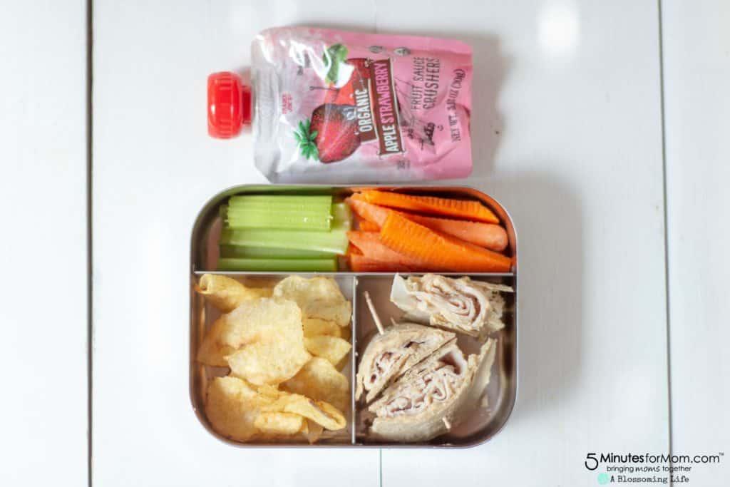 Turkey Pinwheel - Easy School Lunches