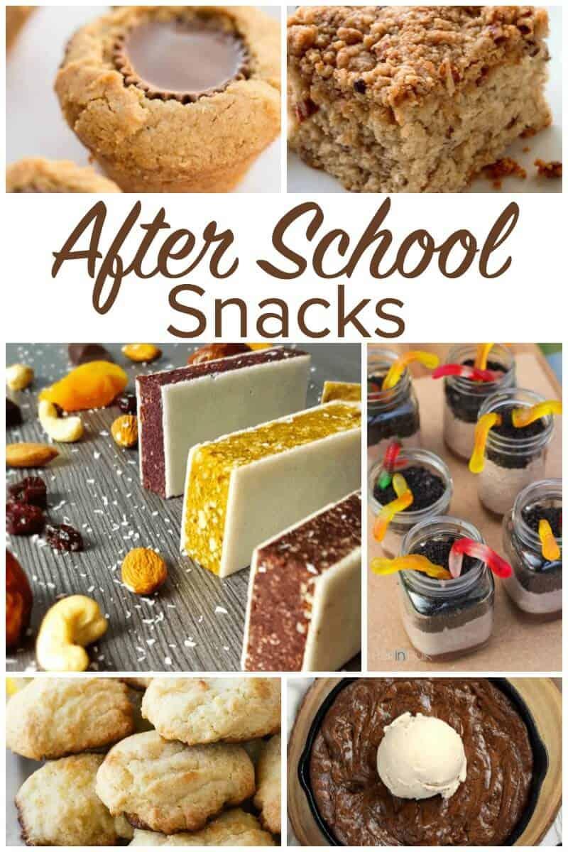 After School Snacks - Back to School Kid Food