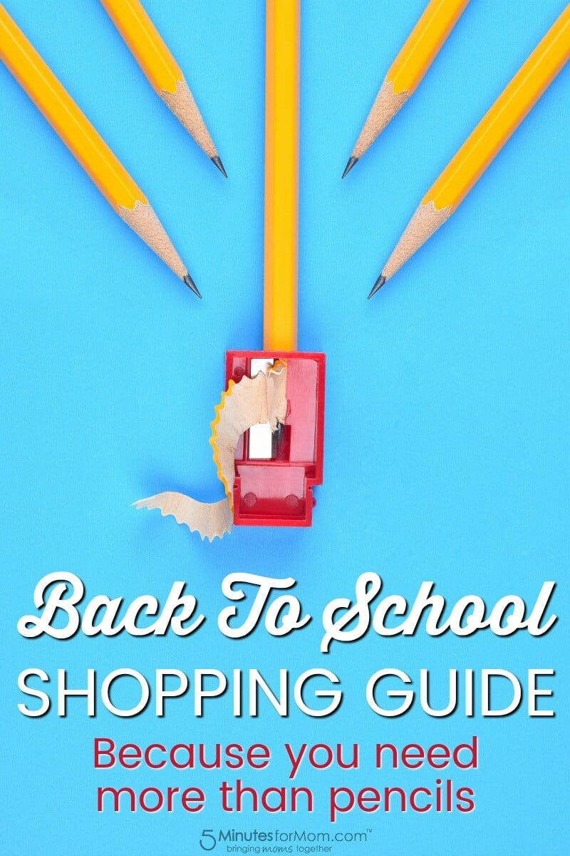 Back to School Shopping Guide - Because You Need More Than Pencils
