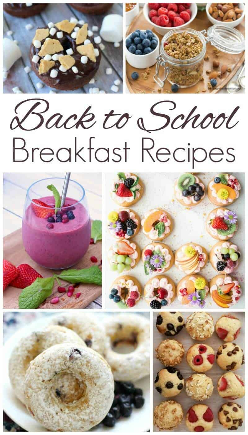 Delicious Back to School Breakfast Recipes