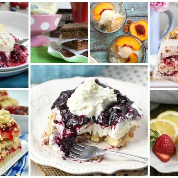 Easy Summer Dessert Recipes and our Delicious Dishes Recipe Party