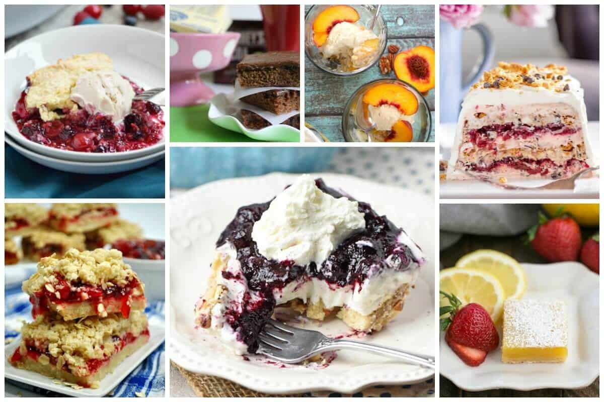 Easy Summer Dessert Recipes - Delicious Dishes